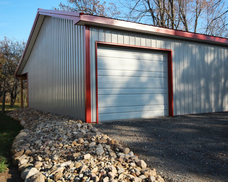 Ribbed Pan Steel Sunrise Door Amp Woodworks