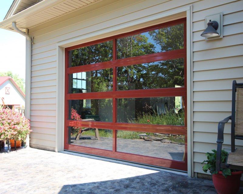Full View Aluminum Sunrise Door Amp Woodworks