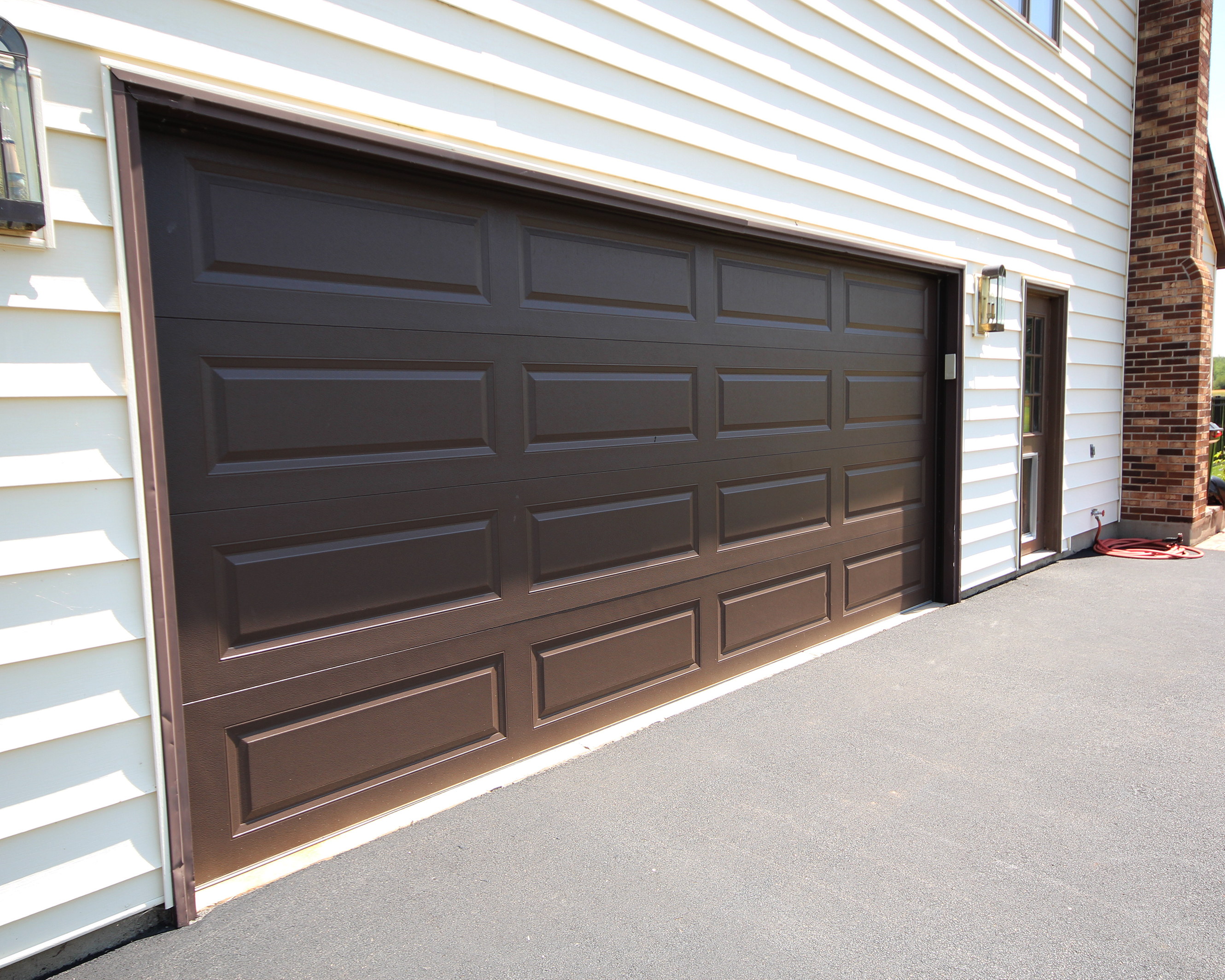 16x7 Raised Panel Garage Door