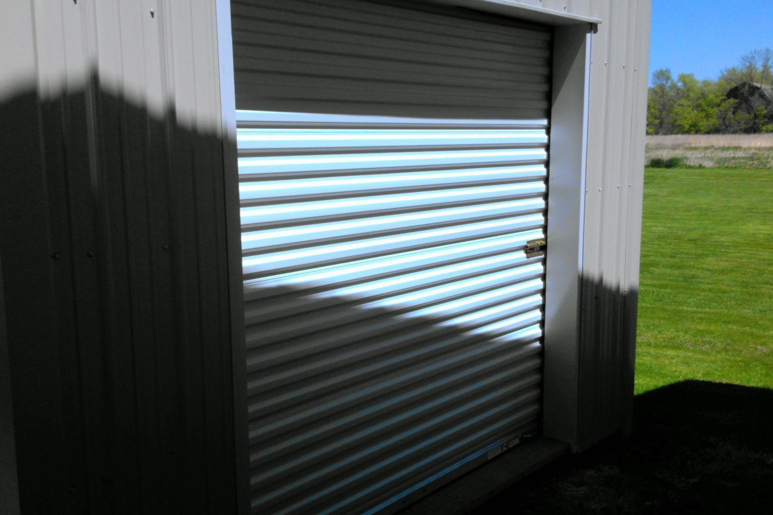 7'6x7 Steel Roll-up Door Gasport NY