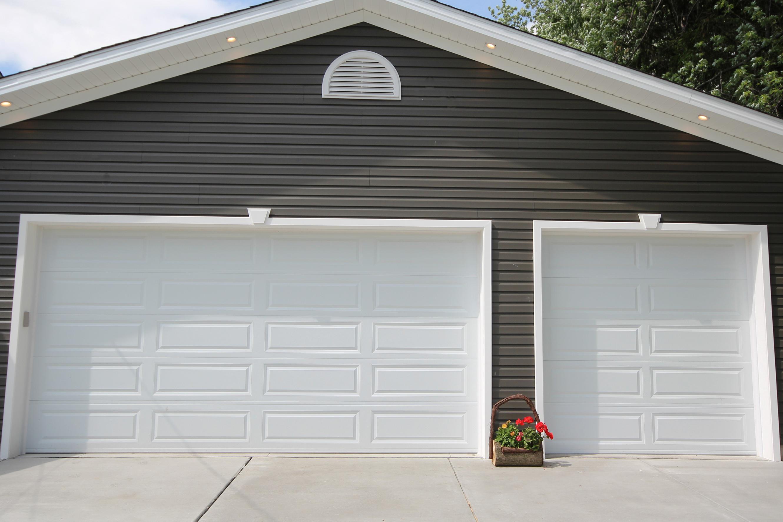Raised Long Panel Sunrise Door, How Much Is A 16 X 8 Garage Door