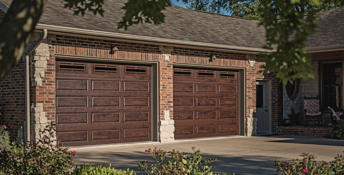 Garage Door Welcome Image